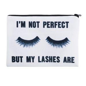 Handbags - Makeup Clutch Bag Perfect Lashes